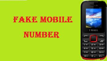 Fake mobile number for sms verification